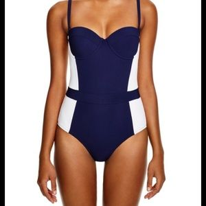 Tory Burch Lipsi size large one piece swimsuit